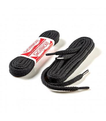 Lacets cordonnets noirs 60 cm