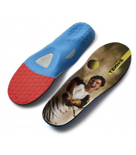 Tennis sports insole