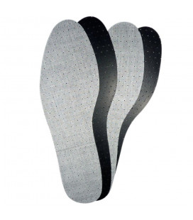Insoles with activated carbon in packs of 2 pairs